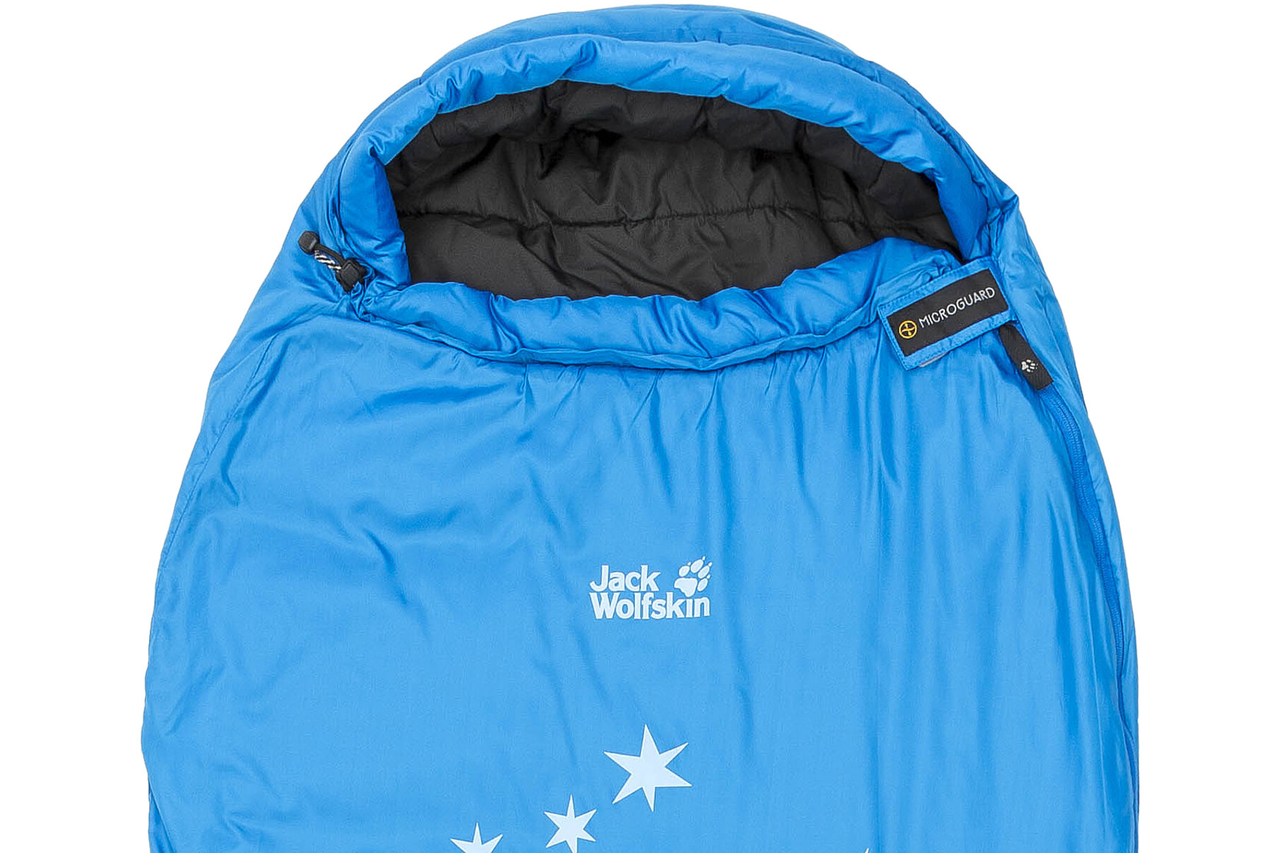 783fd53cd62 Jack Wolfskin Grow Up Star Sleeping Bag Children blue at Bikester.co.uk